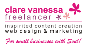 Clare Vanessa Freelancer - Inspirited content creation + website design + marketing = for small businesses with Soul! Visit www.clarevanessa.com.au for more.