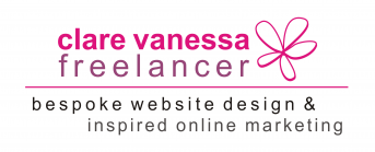 Website Design | Freelance Copy Writing | Digital Marketing | Clare Vanessa Freelancer