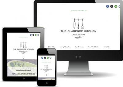 Clare Vanessa Freelancer - specialising in responsive, small business website design.